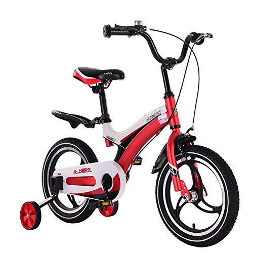 AI-QX 12-18 Pulgadas Bicicleta Infantil Estudio Aprendizaje Montar a Caballo Bicicleta niños...