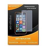 SWIDO Bildschirmschutz für Microsoft Lumia 640 Dual SIM [4 Stück] Anti-Reflex MATT Entspiegelnd, Hoher Festigkeitgrad, Schutz vor Kratzer/Glasfolie, Schutzfolie, Bildschirmschutzfolie, Panzerglas Folie
