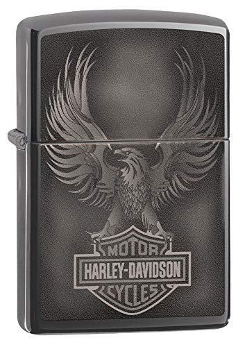 Zippo Black Ice Harley Davidson Taschenfeuerzeug