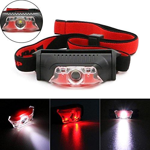 Jacqu New 4 Modes Waterproof COB LED zaklamp Outdoor koplamp koplamp hoofdband Lanterna Torch