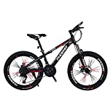 JAD@ Children's Bicycle 24 Inch Variable Speed Mountain Bike 12-17 Years Old Boys and Girls Student...