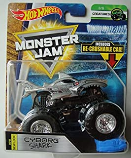 Best cyborg shark monster jam Reviews