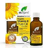 Dr. Organic Complexe d'Huiles Pures Bio à la Vitamine E 50 ml