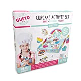 Childrens Unicorn Baking Set,with Unicorn Cookie Cutters, Piping Bag,Nozzles, Unicorn Craft Activity & more! Baking Set for Girls/Children Real Baking Sets for Teenagers. Unicorn Gifts for Girls 11-12