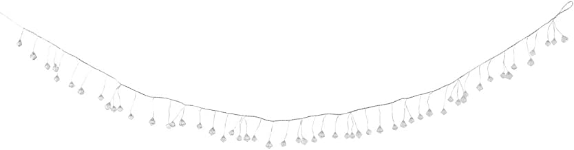 DEMDACO Crystal Drop Small Baubles Clear 79 inch Acrylic and Wire Christmas Garland