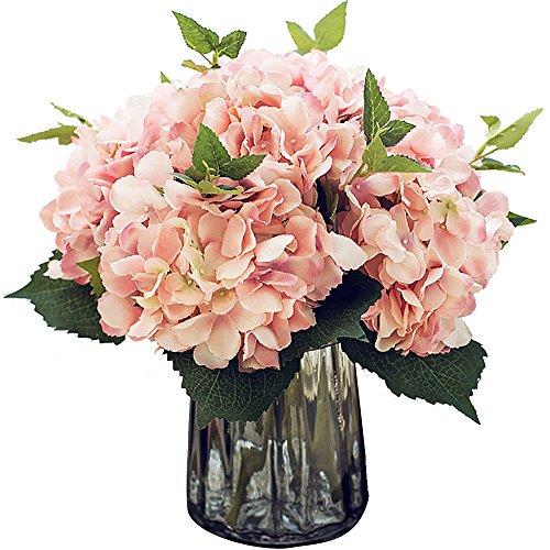 Felice Arts Ramo de flores artificiales de seda para decoración del hogar, boda (3 unidades)