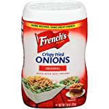 French's Original Crispy Fried Onions, 2.8 ounces (Pack of 2)