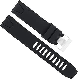 omega seamaster black rubber strap