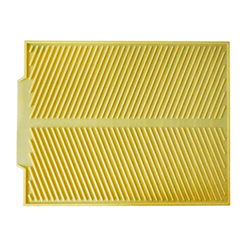 WJYULGY 8 colores S/L silicona plato de secado Mat mesa Mat Placemat cocina secado esteras para platos calor