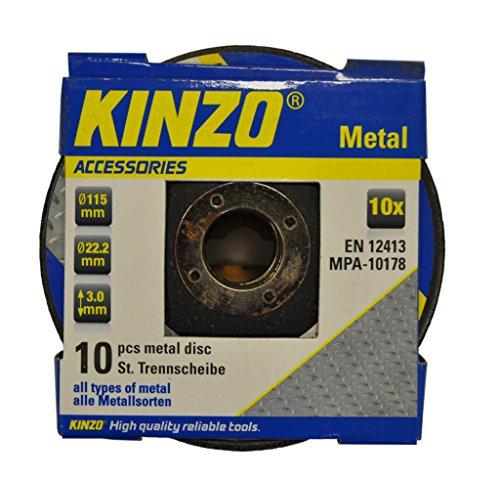 Kinzo Trennscheibe - alle Metallsorten, 1 Stück, 871125271768