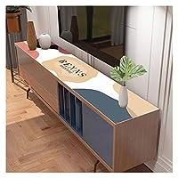 テーブルマット,デスクマット, 靴のキャビネット、テーブルマット, サイドボードマット、防水 防塵 プレースマット、擬革 机 レストラン カバークッション、カスタマイズ可能 AFCHJ (Color : A, Size : 30x140cm)