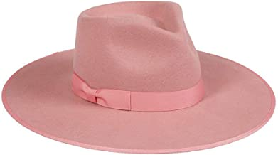 Lack of Color Women's Rose Rancher Wool Fedora Hat