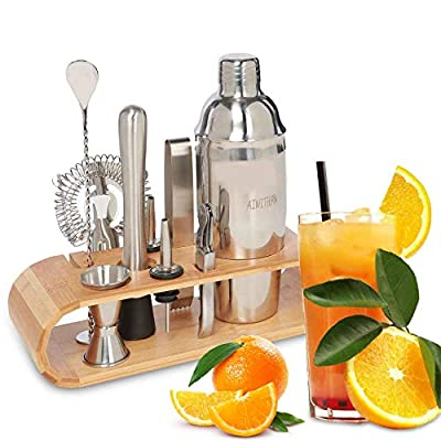 AIWITHPM Cocktail Shaker Set Bartender Kit-with...