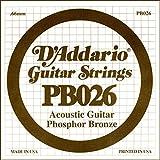 D'Addario Pb026 - Cuerda, 0.026, Naranja