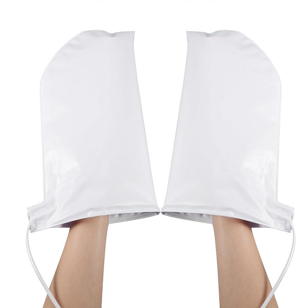 ギャラリー解き明かすタイト手袋 ヒートグローブ 加熱式 電熱 手ケア ハンドケア 2つ加熱モード 乾燥対策 手荒れ対策 補水 保湿 美白 しっとり