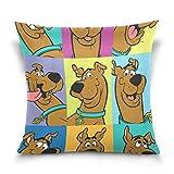 IUBBKI Fundas de Almohada Decorativas para Perros para sofá, Dormitorio, Coche, 18 x 18 Pulgadas