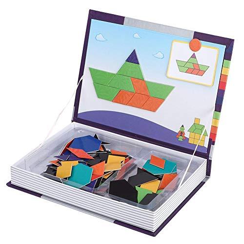 Kinderen Magnetische puzzel Interactief hersenontwikkelingsspeelgoed Educatief speelgoed, Voordelen om de intelligentie en praktische vaardigheden van de baby te cultivere(colorful)