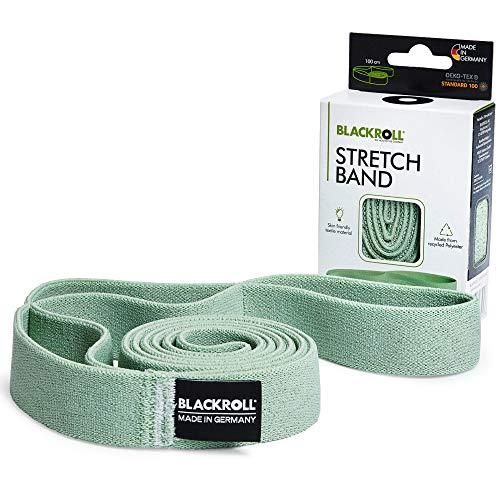 BLACKROLL Banda elástica – Banda de entrenamiento fabricada en Alemania para entrenamiento de longitud muscular, banda de resistencia para mayor movilidad