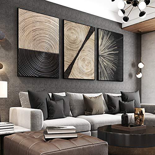 ZFFLYH Wandbilder, Set Von 3 Mural, Modern Minimalist Dekorative Malerei Sofa Hintergrund Wandmalerei Wohnzimmer Büro Kreative Wandmalerei (30 * 40CM),Athens White