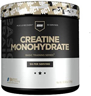 Redcon1 - Creatine Monohydrate - 60 Servings, 5G, Muscle Recovery, Athletic Performance
