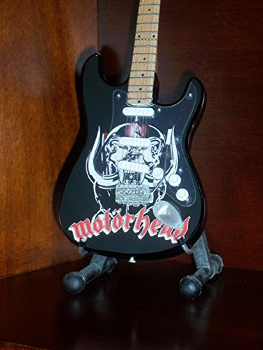 Mini Schwarz Gitarre MOTORHEAD LEMMY KILMISTER Anzeige GESCHENK