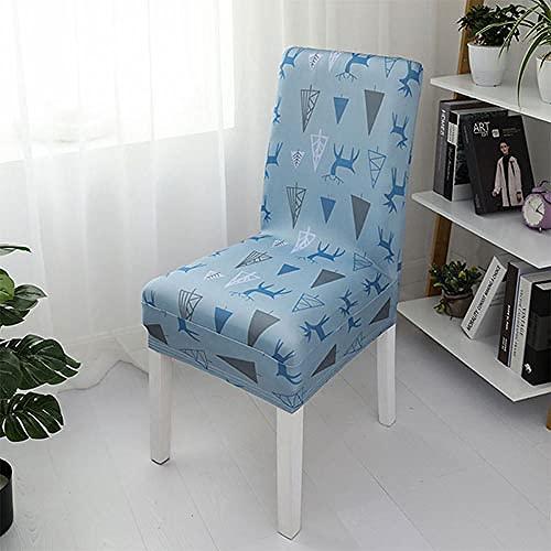 SWJ-swjssb Stretch Modern Dining Stuhlbezüge Stretch Spandex High Back Chair Schonbezug Für Hotel Party Hochzeit Esszimmer Küche,L