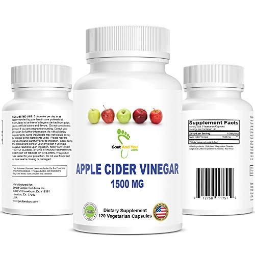 100% NATÜRLICH REINER APFELESSIG (120 Kapseln | 1500 mg)