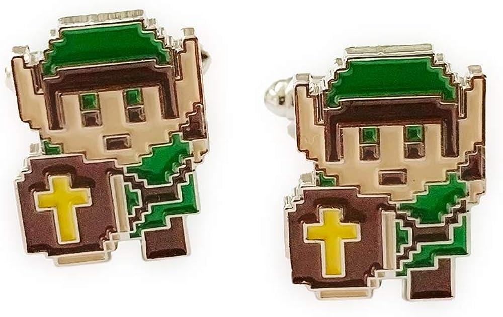 FRESH CUFFS Legend of Zelda Cufflinks Cuff Links Business Wedding Groomsmen Gifts by FRESHCUFFS