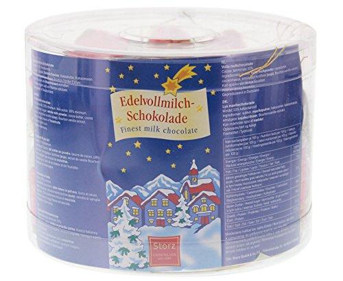 Storz Schokoladen Nikolausstiefel Baumbehang (40Stk. Dose)