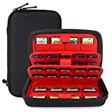 Momen Nintendo Switch Game Case of 72 in 1Cartridges Protective and Hard Storage Carrying Organizer Holders...