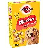 PEDIGREE Markies Original - Biscuits fourrs pour chien, 5 botes de 1,5kg de friandises