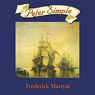 Peter Simple audiobook cover art