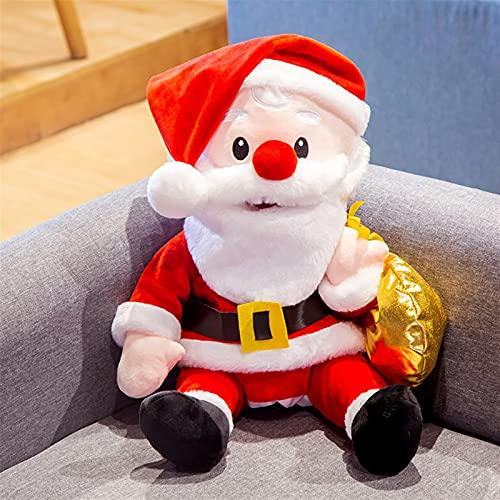 JSJJARF Fingerpuppen 60 cm Santa Claus Hand Puppen Spielzeug Puppen Zeigen Kinder Tiere Geschichte Erzählen Handschuh Kinder Plüsch Spielzeug Aktivität Puppe (Color : Red)