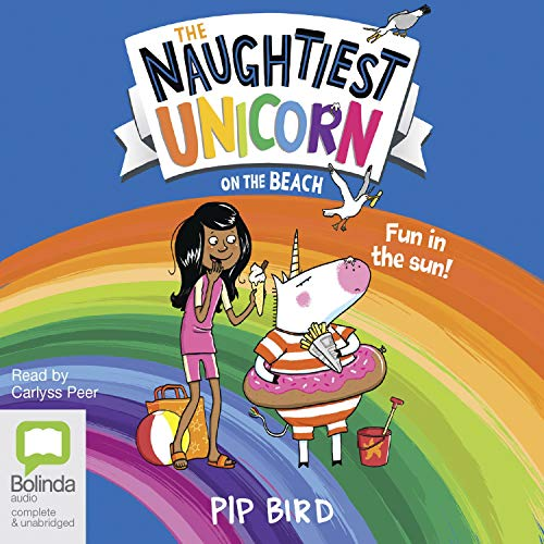 The Naughtiest Unicorn on the Beach cover art