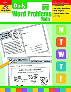 Daily Word Problems, Grade 3