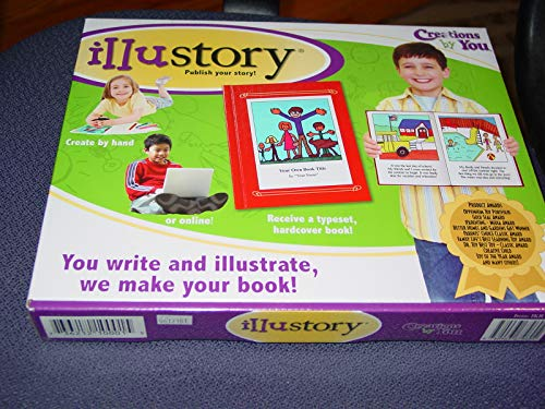 Illustory-Write and Illustrate a Professionally Produced Book