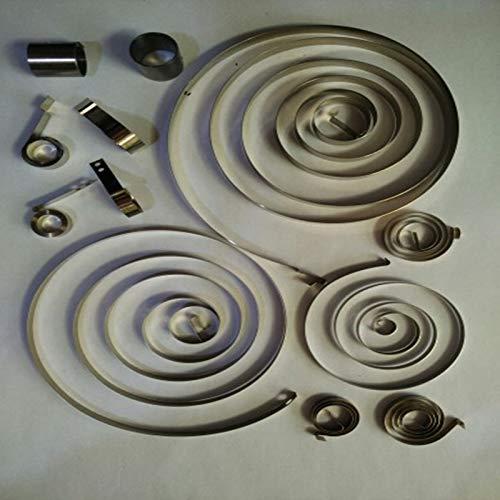 F-MINGNIAN-SPRING 1 ST Kleine spiraalvormige krachtbron, platte spiraalvormige klok Constante krachtbron, (0,1-0,3) mm Dikte x(2-6) mm Breedte x (340-1100) mm L