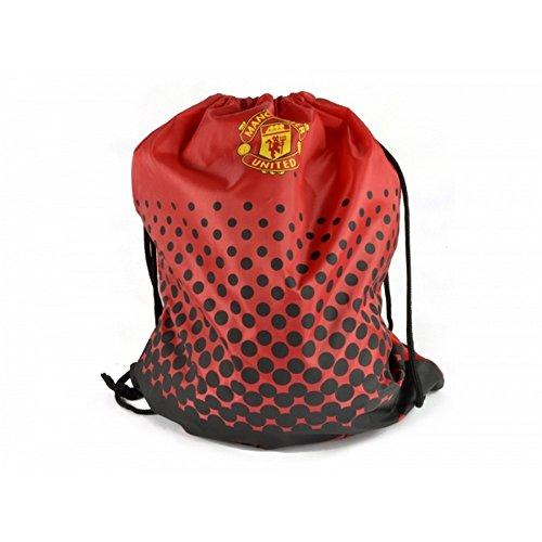 Manchester United Man United - Bolsa de cuerdas oficial (Talla Única) (Rojo)