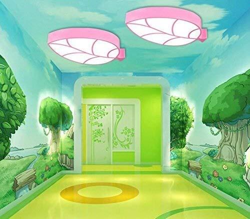 Leuke led-plafondlamp/acrylmetaal plafondlamp voor kinderkamer/bladeren in 4 kleuren optioneel plafondlamp/hanglamp in drie tinten licht/wit, warm wit, licht