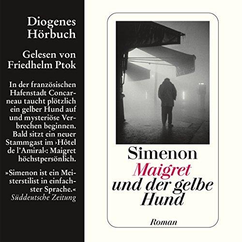 Maigret und der gelbe Hund Titelbild