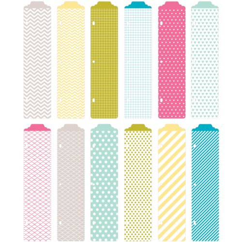 Project Life by Becky Higgins 380035 Project Life Designer Dividers Core Edition-Blush (12 Piece) Photo #4
