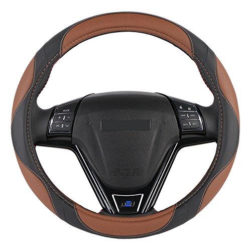 Mayco Bell 2018 Microvezelleer Universeel 38cm Sport Design Stuurwieldoppen Case Auto