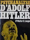 Psychanalyse d'Adolf Hitler