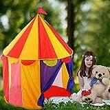 Maril Tienda Campaña Infantil Casitas Infantiles Tela Princess Castle Play Tent Kids Plegable Pop Up Rainbow Play Tent House Toy -para Niños Uso Al Aire Libre En Interiores Physical Refined