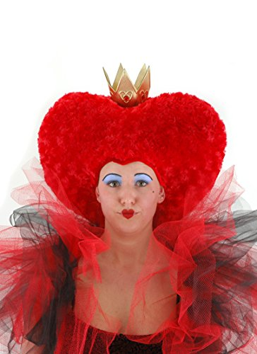 elope Disney Red Queen of Hearts Plush Costume Hat