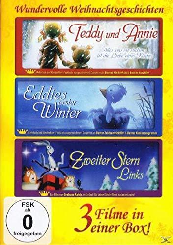 Wundervolle Weihnachtsgeschichten: Teddy und Annie / Eddies erster Winter / Zweiter Stern Links DVD-Box