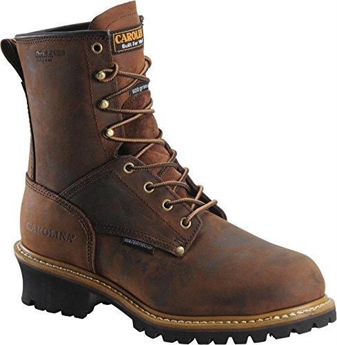 Carolina Boots Men Waterproof Insulated Logger Boots CA4821-12EE