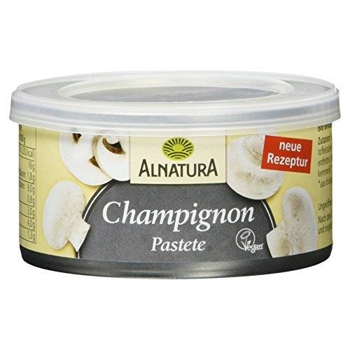 Alnatura Bio Pastete Champignon, Vegan, 125g