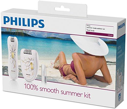 Philips HP6540/00 Coffret d'Épilation, Edition Limitée Blanc