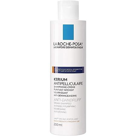 la Roche Posay Kerium Shampoo Crema Micro Esfoliante - 200 ml, Bianco